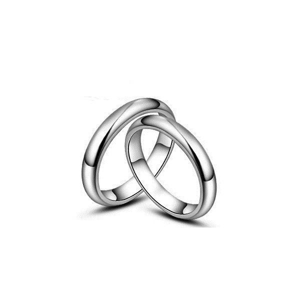 His and Hers classic Couples Wedding Rings