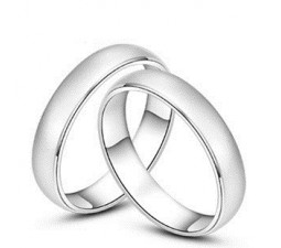 Comfort fit Couples Wedding Rings on sale