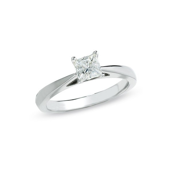 of half carat solitaire diamond picture princess ring