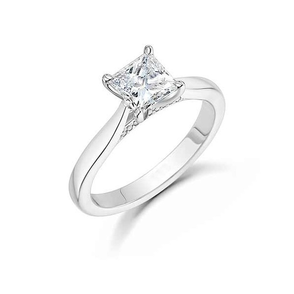 queenly inexpensive solitaire engagement ring 0 75 carat
