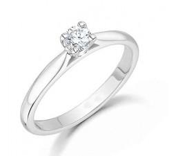 1/5 Carat Solitaire Round diamond engagement Ring