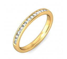 Beautiful Round Diamond Wedding Ring Band