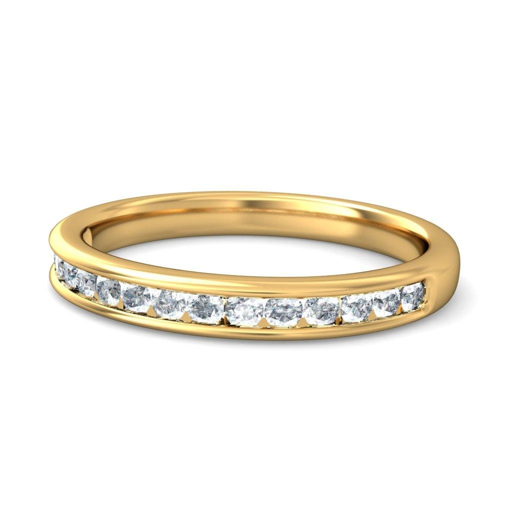 Beautiful Diamond Bands: Beautiful Round Diamond Wedding Ring Band