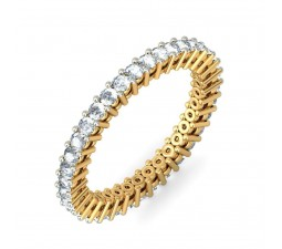 Luxurious 1 Carat Diamond Eternity Ring for Her