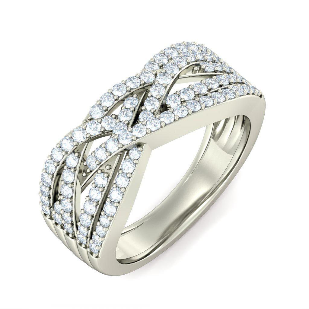f20c79f7b5e Gorgeous Diamond Engagement ring 0.50 Carat Diamond on White Gold ...
