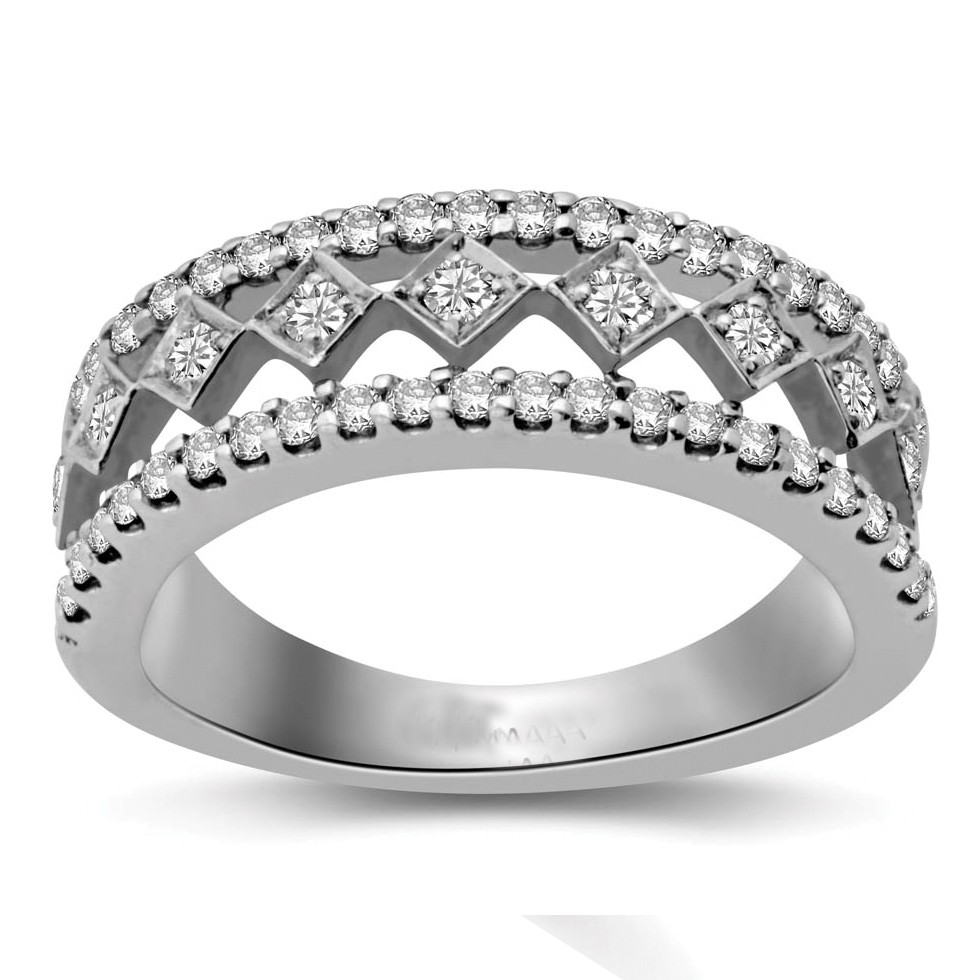 beautiful round diamond wedding band for her wedding band for her Beautiful Round Diamond Wedding Band for Her