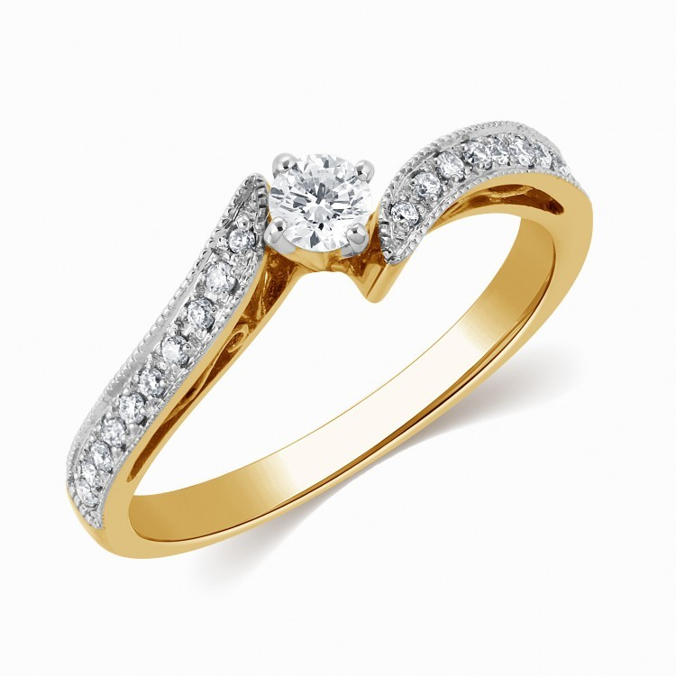 Cheap diamond wedding rings for her
