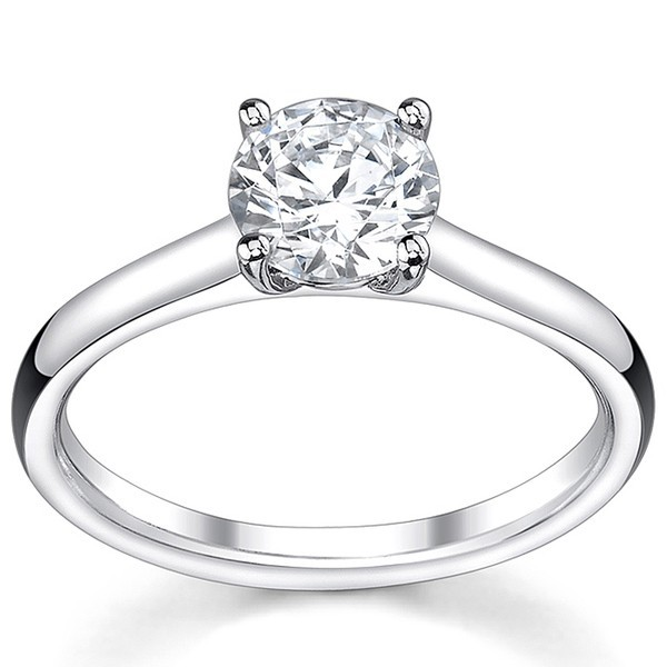 Diamond Rings For Sale Cheap: Discount Sale. Classic Cheap Solitaire Engagement Ring 0