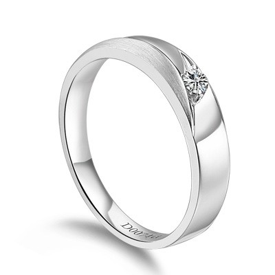 1 Carat Diamond Ring Unique 5 Mens Wedding Band On 10k White Gold