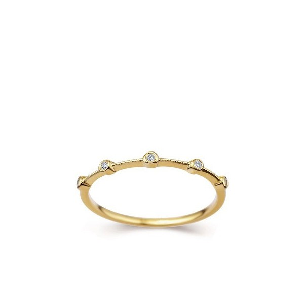 carat women diamond wedding band on 10k yellow gold jeenjewels