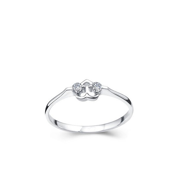de surveillance promise ring white gold