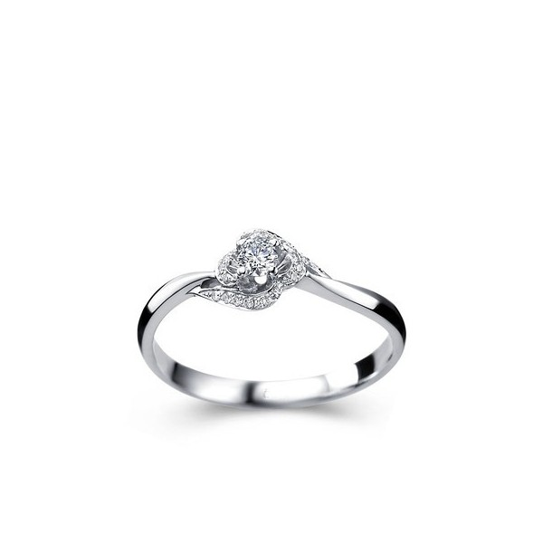 Diamond engagement ring promise ring on 9ct white gold for Diamond wedding rings on sale