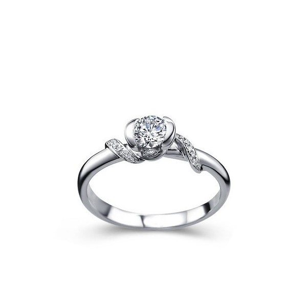 Solitaire Engagement Rings Promise Rings