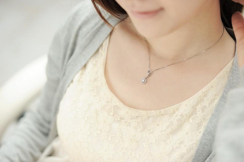 12 carat diamond circle pendant on 10k white gold jeenjewels 12 carat diamond circle pendant on 14k white gold aloadofball Choice Image