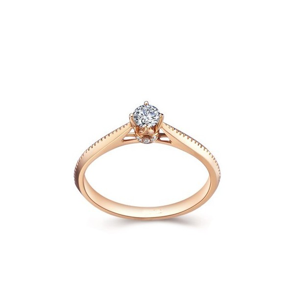 stunning solitaire engagement ring on 9ct