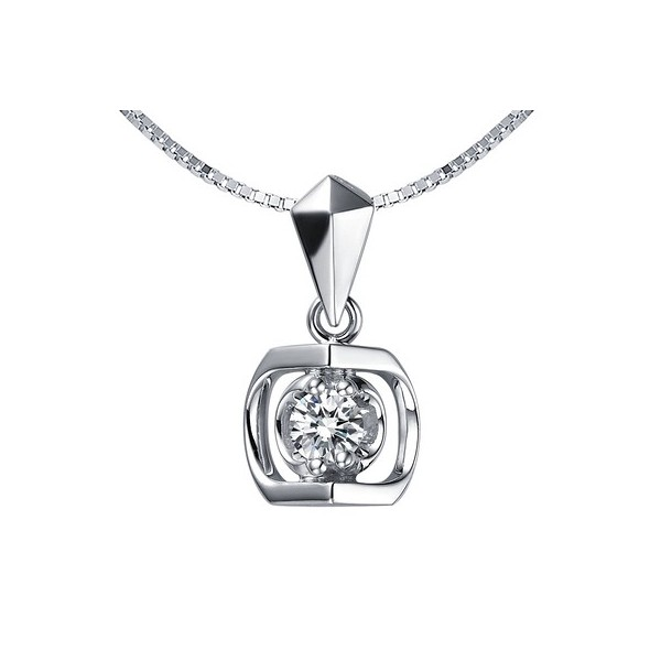 13 carat diamond pendant on 18ct white gold jeenjewels 14 carat diamond pendant on 10k white gold aloadofball Image collections