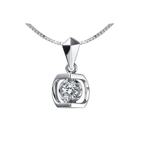 13 carat diamond pendant on 14k white gold jeenjewels 14 carat diamond pendant on 10k white gold aloadofball Gallery