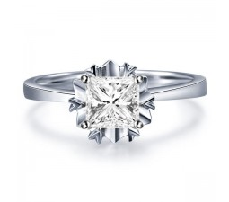 Solitaire Ring On