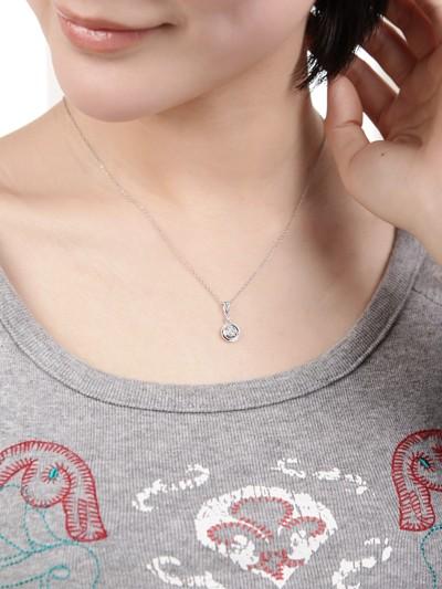 Affordable circle shape diamond pendant jeenjewels 12 carat diamond heart pendant on 10k white gold aloadofball Gallery