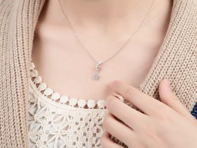 13 carat diamond circle pendant on 10k white gold jeenjewels 12 carat diamond circle pendant on 10k white gold aloadofball Gallery