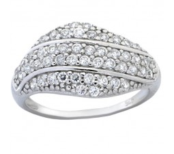 Beautiful 1 Carat Cubic Zirconium Wedding Ring Band for Women