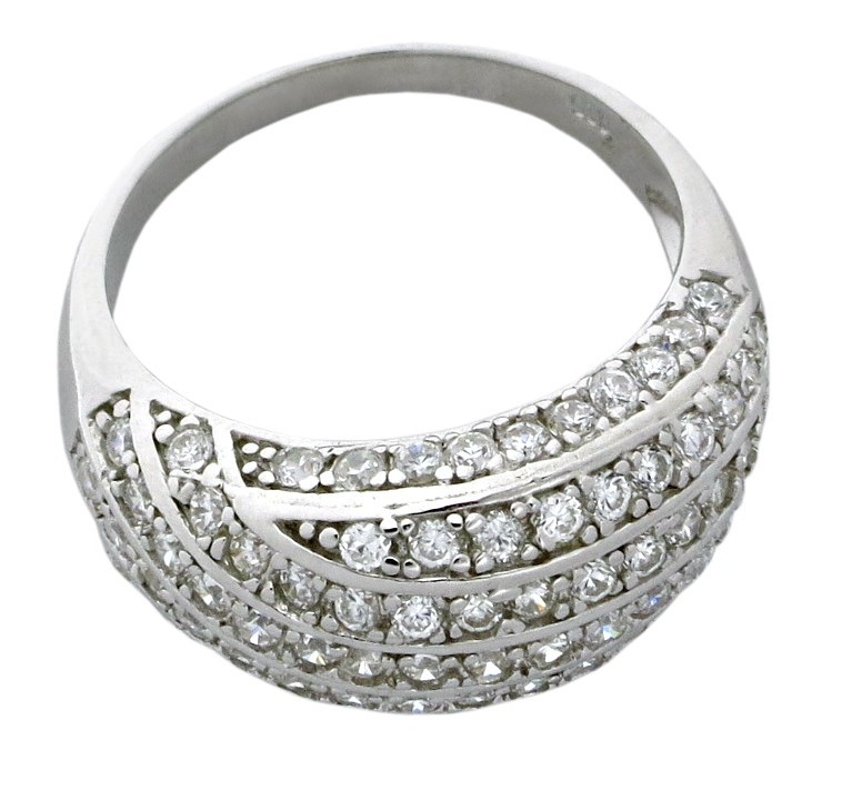 antique 1 50 carat cubic zirconia anniversary wedding ring