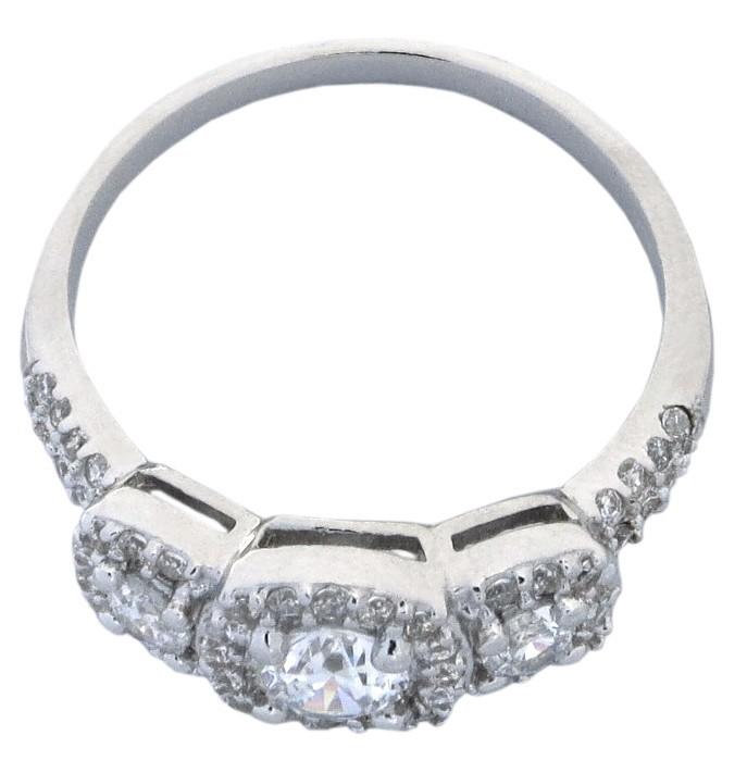 Designer 2 50 Cubic Zirconium Engagement Ring for Women on Sale JeenJewels