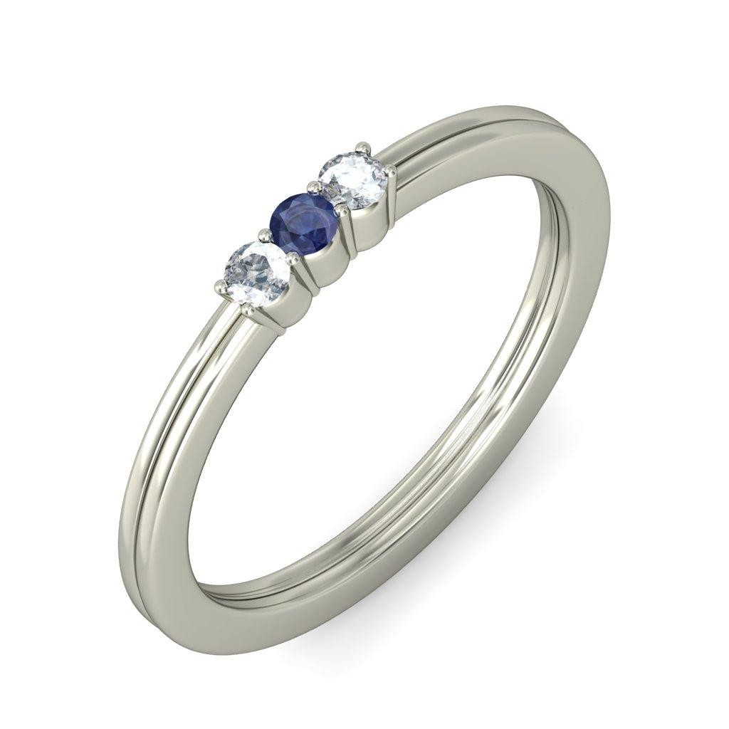 rings amor diamond wedding product white sapphire image and ring stone blue gold engagement