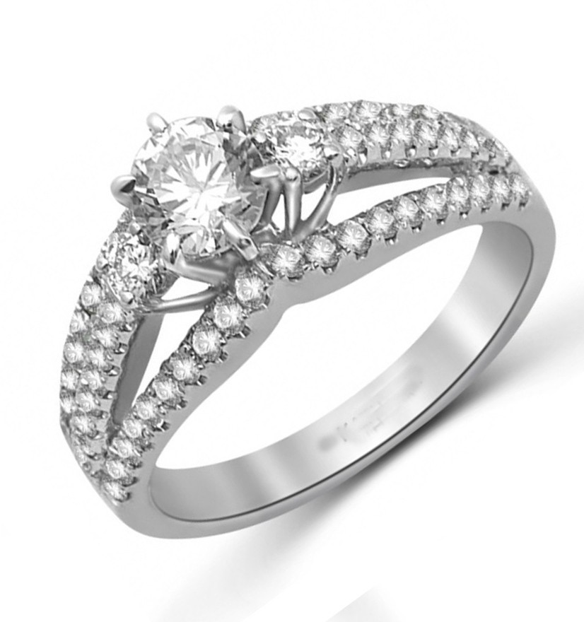 Perfect Inexpensive Engagement Ring 1 50 Carat Round Cut