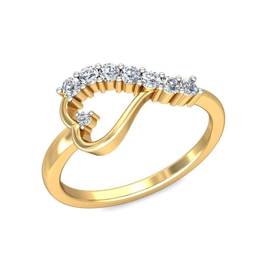 Gold Wedding Ring With Diamonds 71 Cute Heart shaped diamond ring