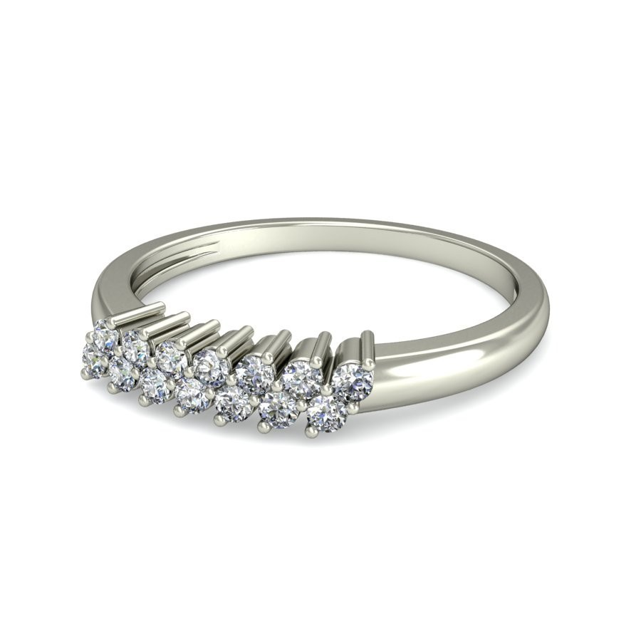 her pin bands band diamonds wedding for gold diamond white a classic this totaling row of shimmering showcases