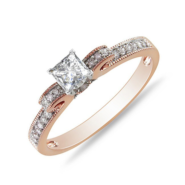 Fresh Cheap Rose Gold Engagement Rings