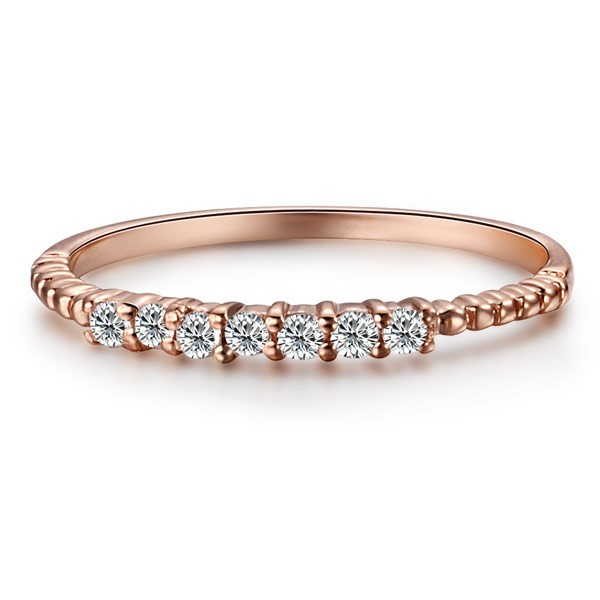 the most beautiful wedding rings rose gold wedding band rings