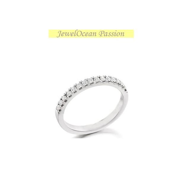 .25 Carat Diamond Wedding Band on 10k White Gold
