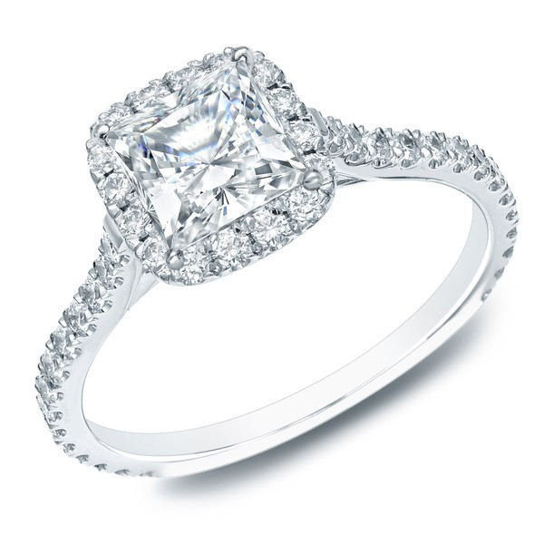 pleasing halo affordable engagement ring 100 carat