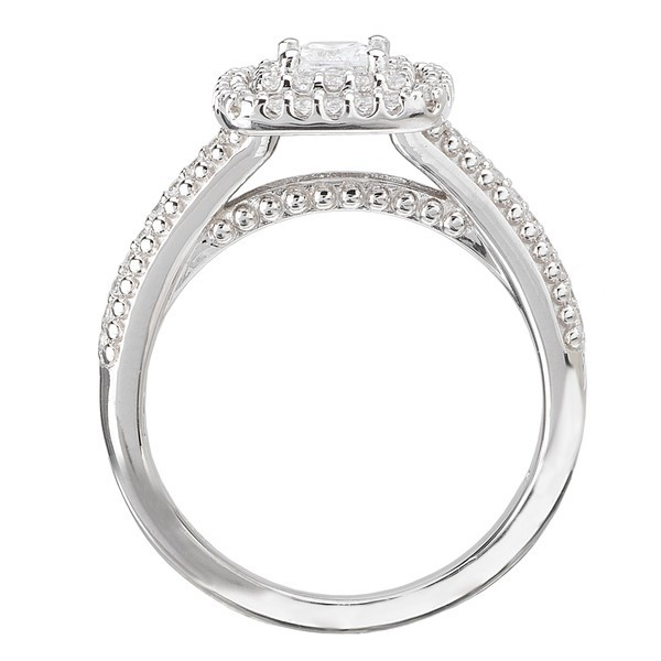luxurious halo affordable engagement ring 2 00 carat