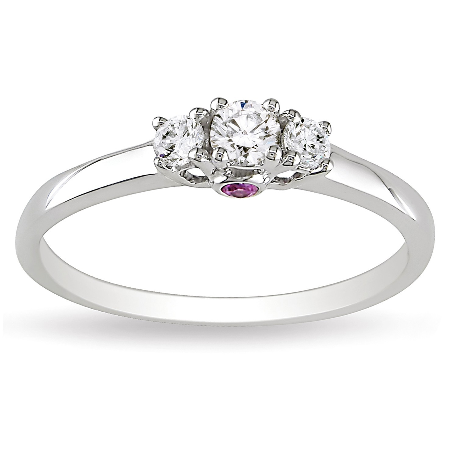 elegant fine round ring w en diamond solitaire engagement ananta trilogy rings jewelry