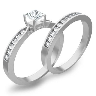 bridal set on bridal set on - Affordable Wedding Rings Sets