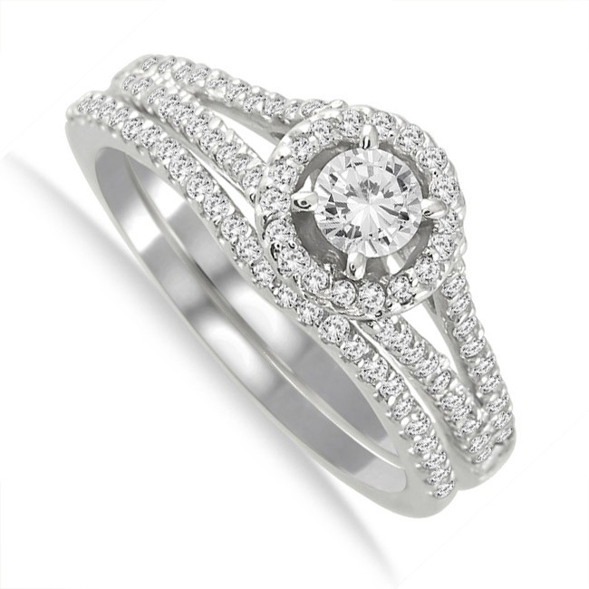 1 15 Carat Round Diamond Engagement Ring For Women In