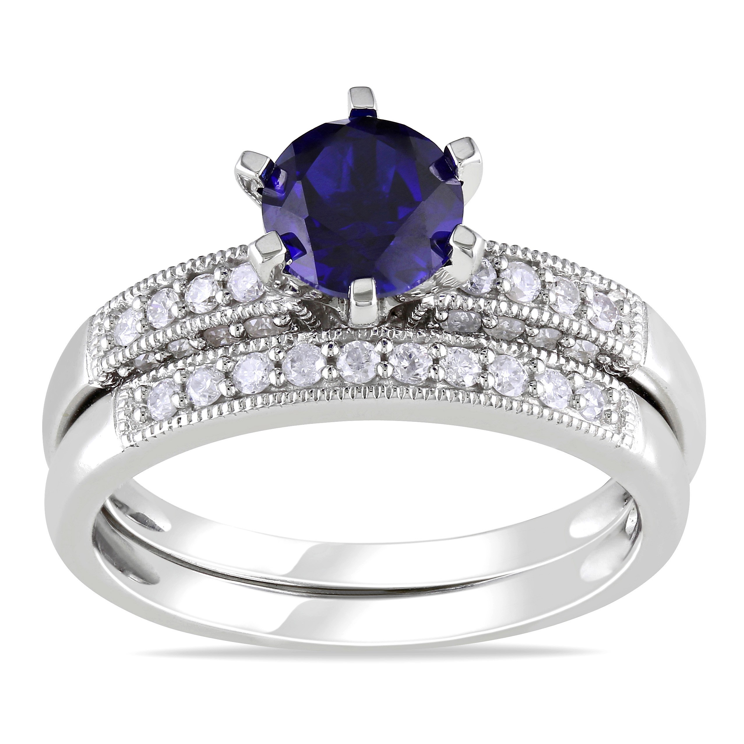 ring carat buy in white diamond and ceylon gold sapphire prouctdetail