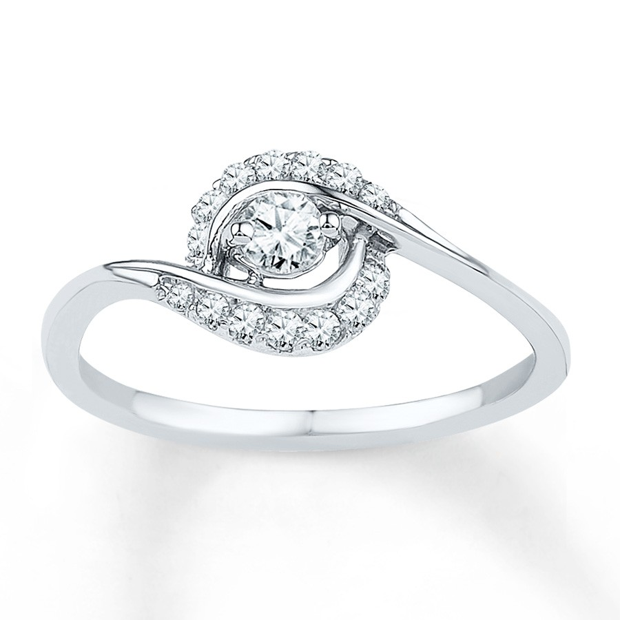 Gold Engagement Rings: White Gold Engagement Rings For Women