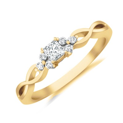 Cheap Affordable Diamond Engagement Ring Jeenjewels