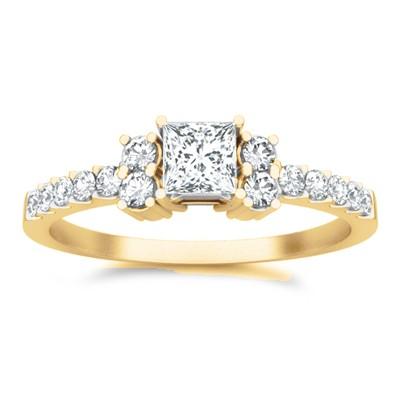 Cheap Diamond Engagement Ring On - JeenJewels