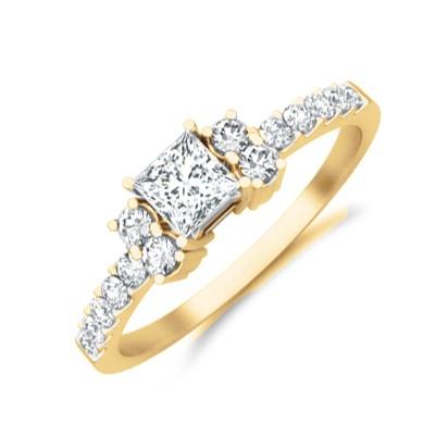 Cheap Diamond Engagement Ring On JeenJewels