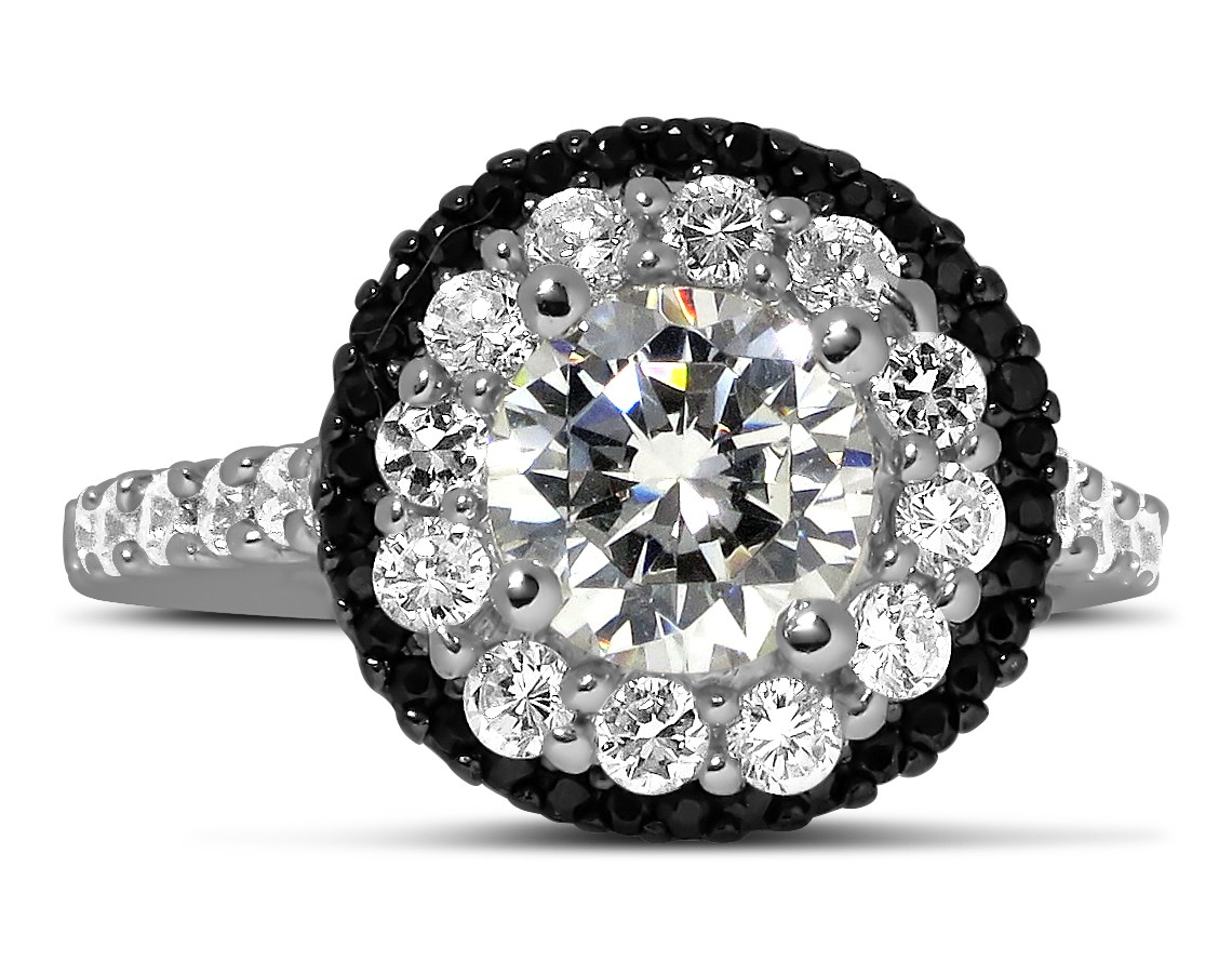 brilliant platinum ring carat point diamond shank of round split b engagement products love