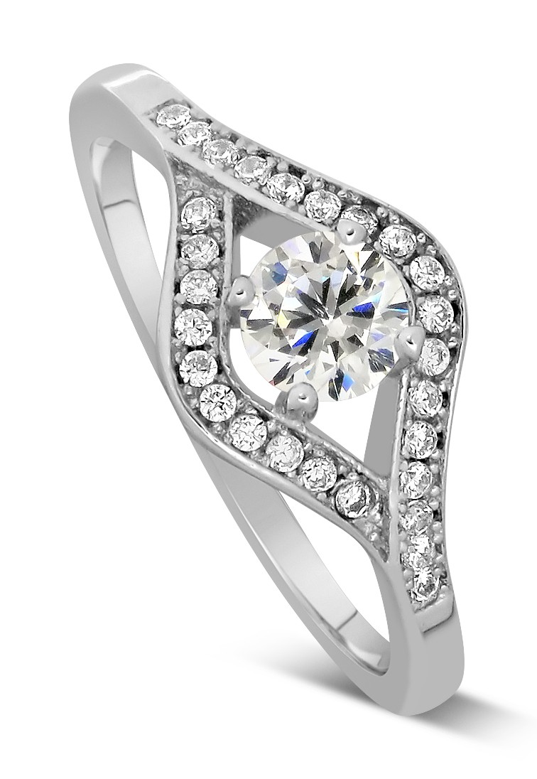 Half Carat Round Diamond Engagement Ring In White Gold. Raspberry Rings. Epic Wedding Engagement Rings. Jyotish Rings. 5mm Stone Engagement Rings. Old Ring Engagement Rings. Ceremony Rings. Tapered Engagement Rings. Half Moon Engagement Rings