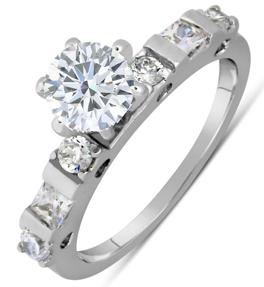 Half Carat Round Diamond Engagement Ring In White Gold. Earring Rings. Traditional Engagement Rings. Exquisite Diamond Wedding Rings. 12 Carat Engagement Rings. Right Wedding Rings. $5000 Wedding Rings. Sand Wedding Rings. Samnsue Wedding Rings
