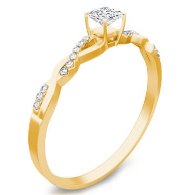 Cheap Engagement Ring On