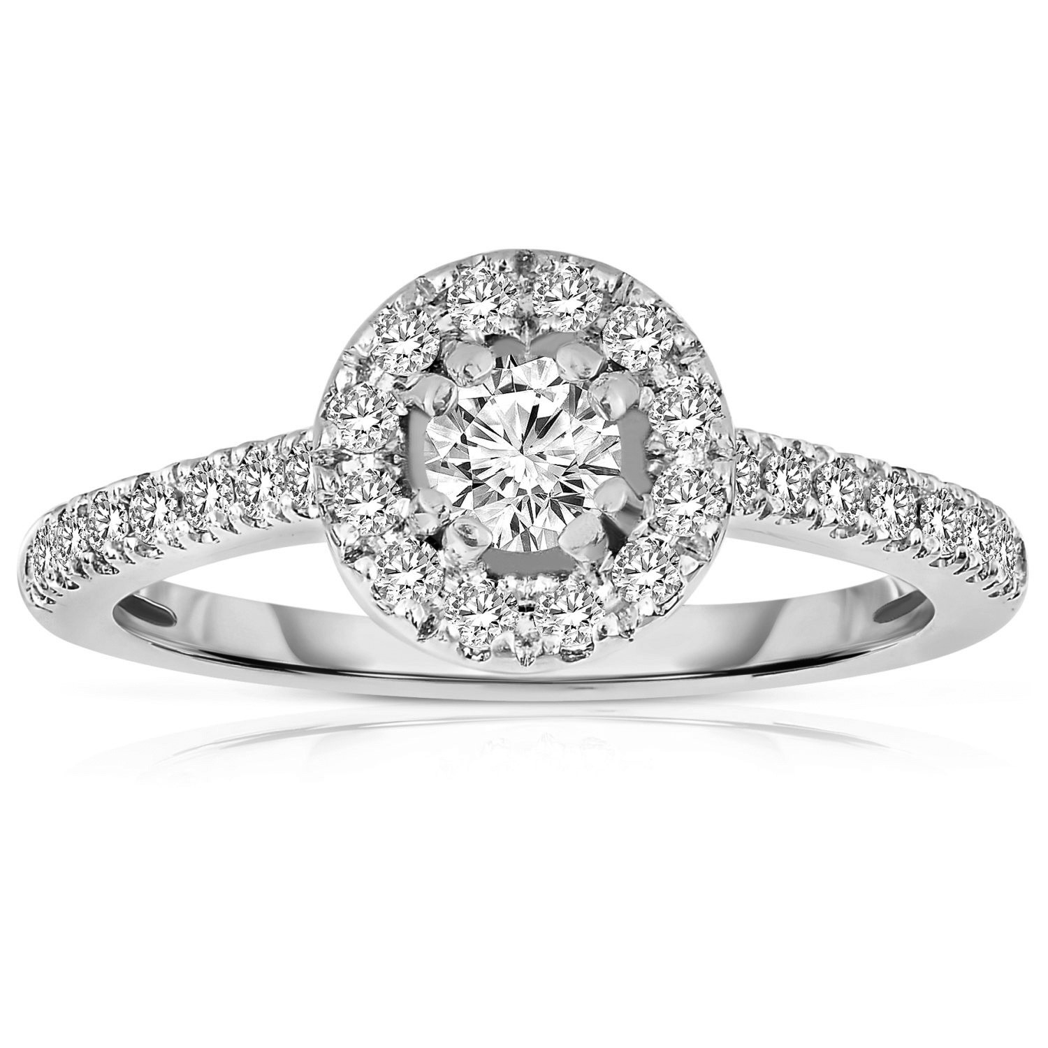 rings tiffany prong round cut solitare style whiteview engagement ring