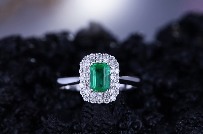 Carat Diamond Ring Double Halo